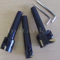 Joukko leikkureita kanssa meh.krepleniem levyt MK3 (20/30/40 mm)
