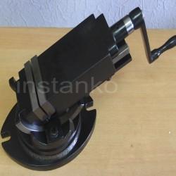 Tarkkuuskoneruuvipuristin, 50 mm, 2-AKS.