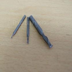 Mill perävaunu, 2 sulka, karbidi, DIN327. Dia.10,0x10x72x26 mm