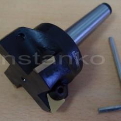 Jyrsinterät, hal.63 mm, MK3  3 kpl sis.toimitukseen