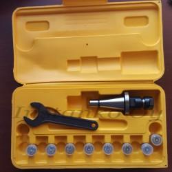 Jyrsinistukkasarja ER16-8 os ISO30 M12 (2,0-10,0 mm)