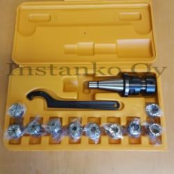 Jyrsinistukkasarja ER25-10 os ISO30 M12 (3,0-16,0 mm)