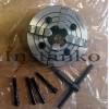 4-leukainen sorvinpakka riippumattomien leuat (halk.200mm)