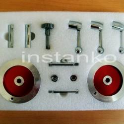 Metallinen Nuppi ja käsipyörän sarja ,maleille.C2/SC2/C3,SIEG