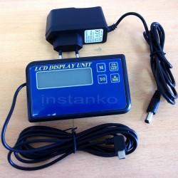 1-akselin LCD, mukana USB