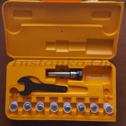 Jyrsinistukkasarja ER16-8 os MK2 M10 (2,0-10,0 mm)