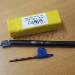 Sisäsorvausterä,12 mm, S12M, SCLCR