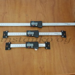 Digitaalimittasauva, vaaka 0-100 mm x 0,01 mm USB